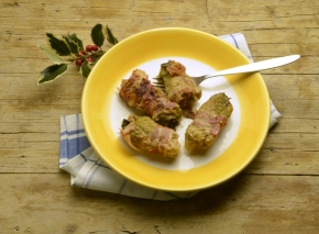Rouladen nach italienischer Tradition: Involtini alla milanese