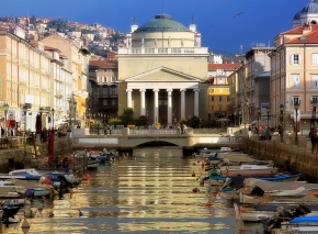 Blick anf den Canal Grande und die Sant'Antonio Taumaturgo