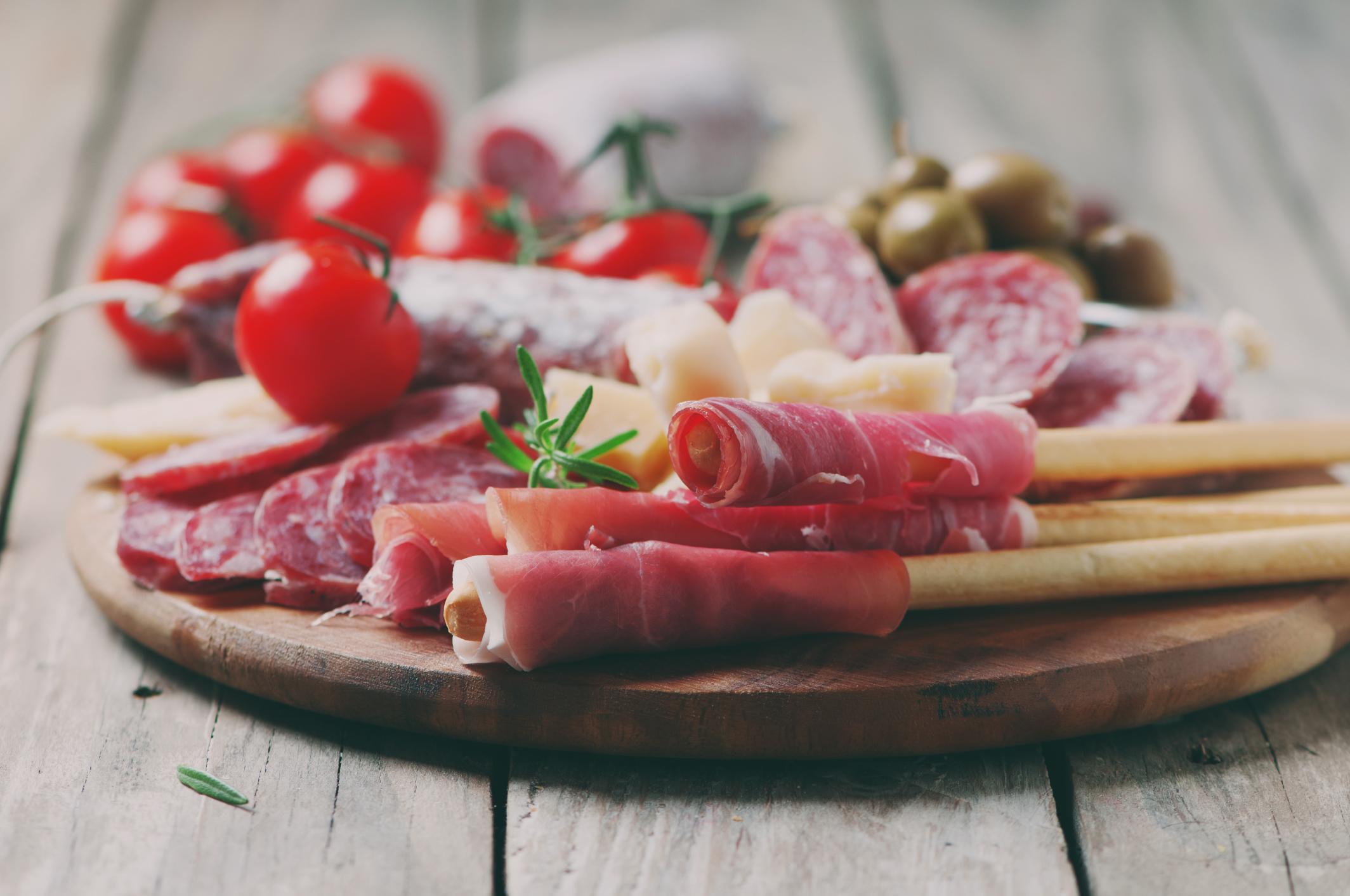 Italienische Wurstspezialitäten