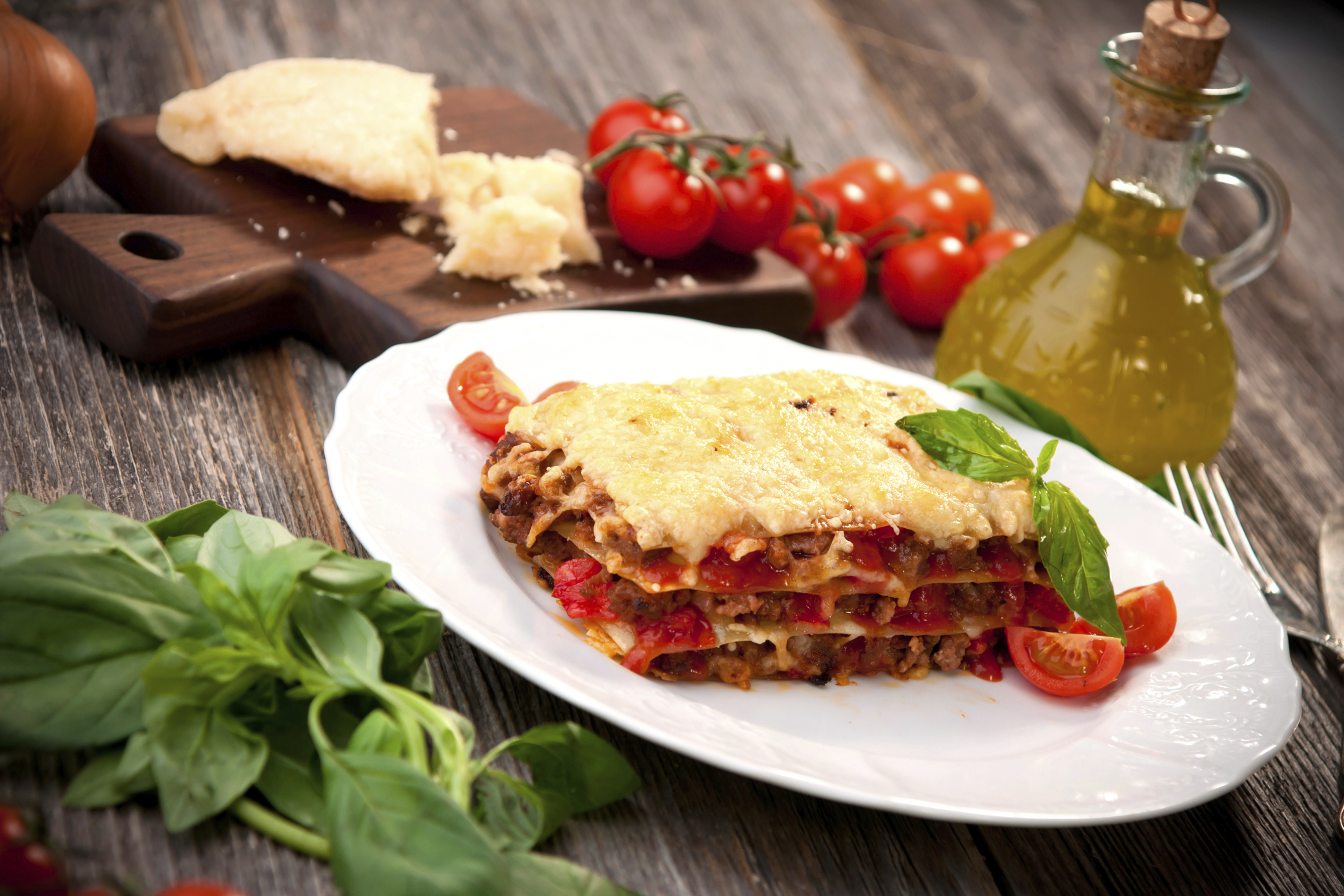 Lasagne mit Fleisch