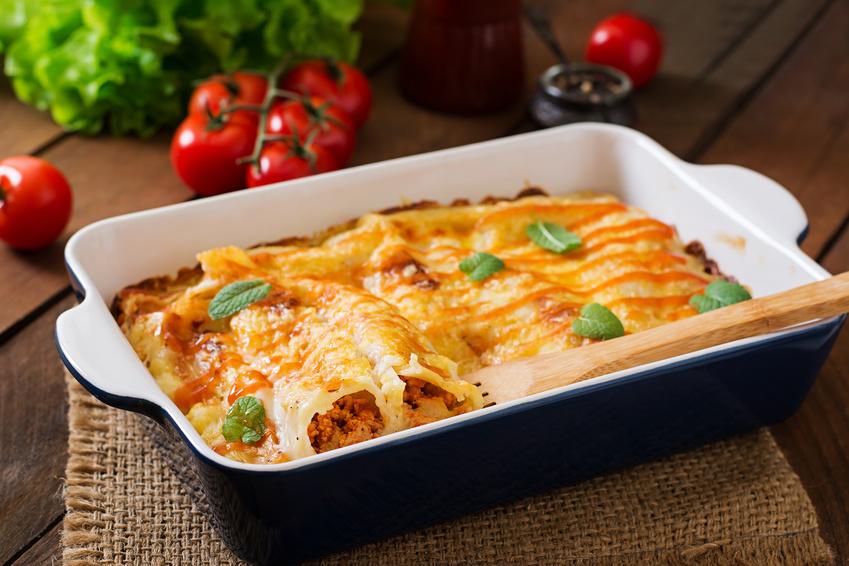 Rezept für Cannelloni alla Siciliana: Eine runde Sache aus dem Ofen