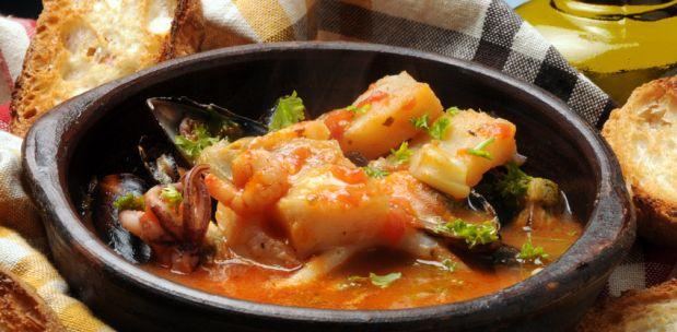 Rezept für Cacciucco alla Livornese: Fischtopf aus der Toskana