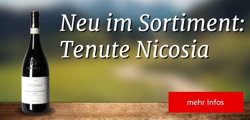 Neu im Sortiment – Tenute Nicosia