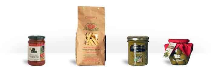 Bunte & aromatisierte Pasta