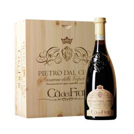 Amarone della Valpolicella Pietro Dal Cero 3 Flaschen in Holzkiste (3 x 0,75 l)
