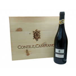Sangiovese del Conte - 6 x 0,75 l in orig. Holzkiste