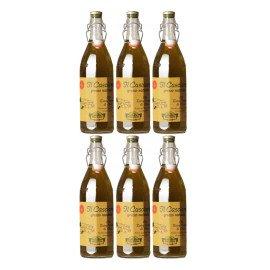 Olio Extra Vergine Grezzo 1000 ml (6 x 1,0 l)