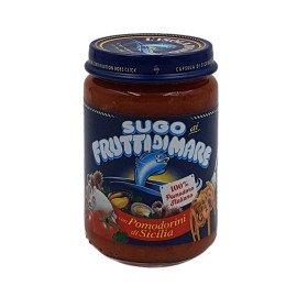 Sugo ai Frutti di Mare con Pomodorini di Sicilia 130 g