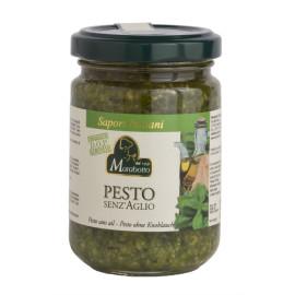 Pesto senza Aglio con Basilico Genovese 130g