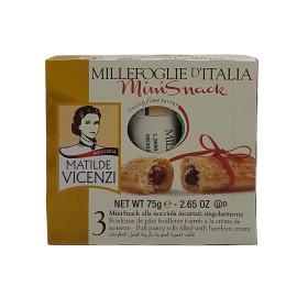 Mini Snack con Crema alla Nocciola 75 g