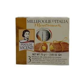 Mini Snack con Crema Pasticcera 75 g