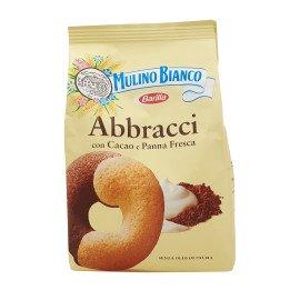 Abbracci con Cacao e Panna Fresca