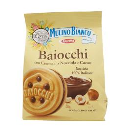 Baiocchi con Crema alla Nocciola e Cacao