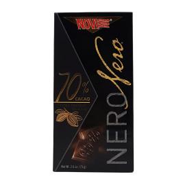 Cioccolato Nero 70% Fondente Amaro Extra 75 g