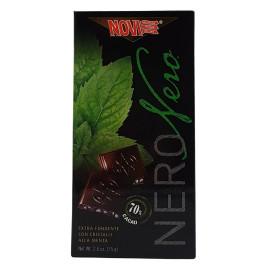 Cioccolato Nero Cristalli alla Menta 75 g