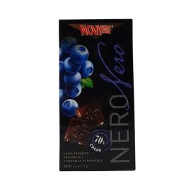 Cioccolato Nero Mirtilli e Granella di Mandorle 75 g