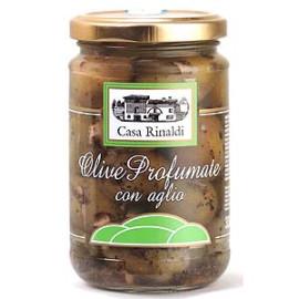 Olive Profumate con Aglio