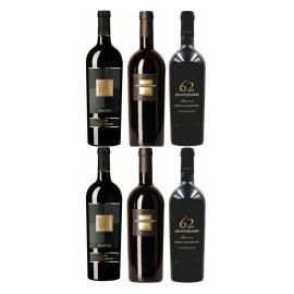 Probierpaket Primitivo der beliebte Wein aus Apulien (6 x 0,75 l)