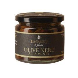 Olive Nere alla Menta