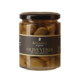 Olive Verdi in Salamoia Ragameli di Sicilia