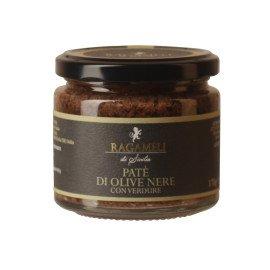 Paté di Olive Nere Con Verdure