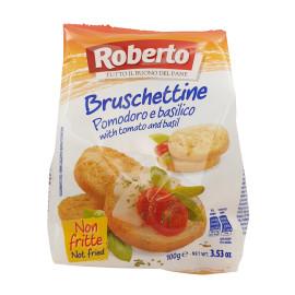 Bruschettine Pomodoro e Basilico
