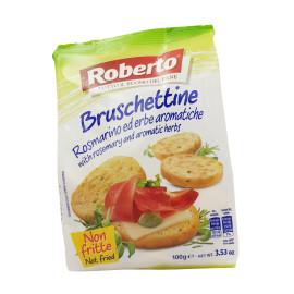 Bruschettine Rosmarino ed erbe aromatiche
