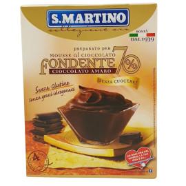 Preparato per Mousse al Cioccolato Fondente Cioccolato Amaro 115 g