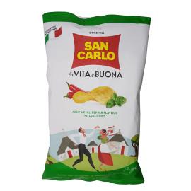 Chips Più Gusto Menta e Peperoncino Puglia 150 g