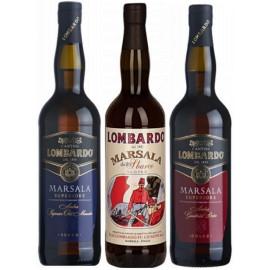 Likörweinpaket Lombardo Marsala Weine (3 x 0,75l)