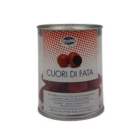 Cuori di Fata Amarena Cioccolato Fondente 150 g