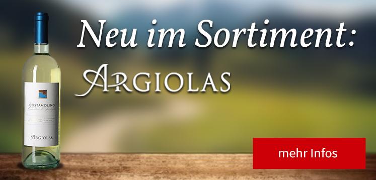 Neu Im Sortiment - Argiolas